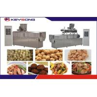 Wholesale Vegetarian Meat Soya Protein Chuncks Making Machine Fully Automatic Low Noise from china suppliers