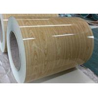 Wholesale Wooden Pre Painted Galvanized Sheet , Hot Rolled Steel Coil For Construction from china suppliers