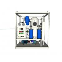 Wholesale Double Stages Vacuum Transformer Oil Purifier Stainless Steel Material 40KW - 135KW from china suppliers