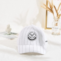 Wholesale Marino Madi white color black strip hip-hop baseball cap hat from china suppliers