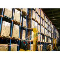 Wholesale Powder Coated Pallet Drive In And Drive Through Racking For Beverage Companies from china suppliers