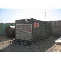 Buy cheap Shower Sanitary Shipping Container House Construction With Electric Generator from wholesalers