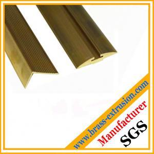 Quality Orichalch floor hardware brass foor flat bars for sale