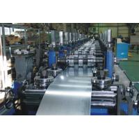 G.I Coil / Carbon Purlin Roll Forming Machine With Touch Screen