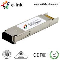 Buy cheap Single Mode SFP Fiber Optic Transceiver Module Hot Pluggable XFP Footprint from wholesalers