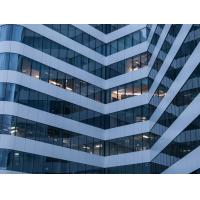 China Curtain Wall Profiles for Sky Reflection High Rise Building Facade for sale