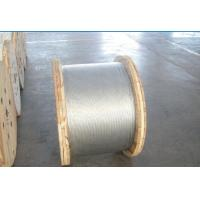 Best Non - Alloy Galvanized Ground Shield Wire With Hot Dip Galvanizing Vertical Process wholesale