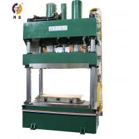 1000T Green Steel Hydraulic Heat Press For SMC And Carbon Fiber Molding