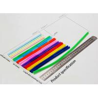 Wholesale 6X210mm double end bendable Drinking Straws Eco Friendly stretch to 310mm from china suppliers