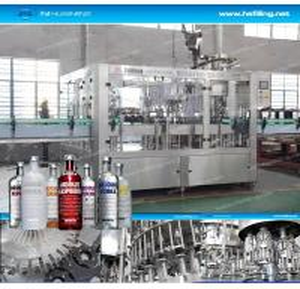 Glass Bottle Alcohol Filling Machinery Liquid Bottle Filling Machine GMC , SGS