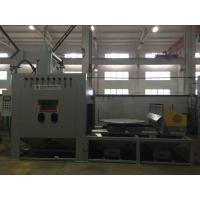 Wholesale Large Turntable Dustless Sandblasting Machine / Rotary trammer can be fixed and Special track shallow from china suppliers