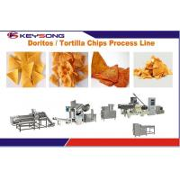 Wholesale Industrial Food Processing Equipment , Custom Puff Extrusion Nacho Chip Machine from china suppliers