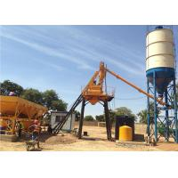 Wholesale Stationary Concrete Batching Plant With Cement Silos 15 - 200 M3 Per Hour from china suppliers