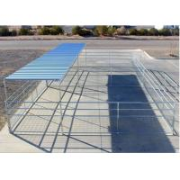 Wholesale 16'W 4- Rail Cattle Corral Panels Horse Corral Panel For US Market from china suppliers