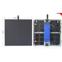 P8 P10 Outdoor Rental LED Screen Slim Panel Smd 3535 Meanwell Power Epistar