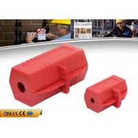 China Durable Plug Lock Out Rugged Polypropylene 6.5 * 6.5 * 11.8 Cm Size on sale