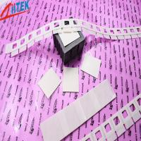 Wholesale Silicone Elastomer 50 Shore A White Thermal Adhesive Tape for LED Fluorescent Lamp 0.8 W/mK from china suppliers