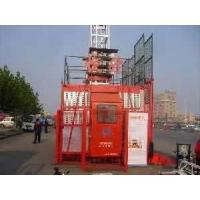 China 16 Persons 4tons building construtction hoist rack pinion goods material lift elevators on sale