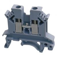 China All Copper Low Voltage Components UK-2.5N 2.5b UK10 UK35 Feed Through Universal Modular Terminal Block on sale