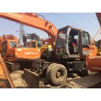 Wholesale Hitachi ZX160W Used Wheel Excavator 17300kg Used Excavating Equipment from china suppliers