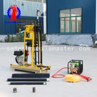 China Portable core rig /high, medium and low speed drilling rig with oil pressure feed are suitable for complex terrain on sale