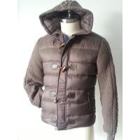 Wholesale Custom Ladies Casual Pants , Polyester Windproof  Windbreaker Jackets Mens Quilted Coats from china suppliers