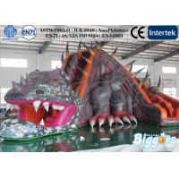 Wholesale Giant Lifelike Dragon Kids Inflatable Slide Fun Games for Amusment Park from china suppliers