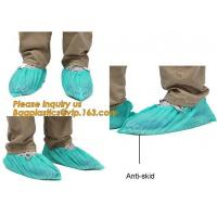 Wholesale Disposable Blue waterproof rain boot/shoe covers,rain cover for shoes,Eco-friendly Professional Shoe cover made in China from china suppliers