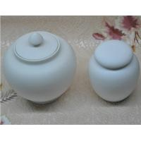 Wholesale Exquisite Pure White Jingdezhen Porcelain Tea Storage Jars From China from china suppliers