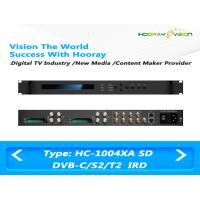 Wholesale ASI IP Output Digital TV Satellite Receiver 4-Tuner 4 CAMs/CIs support DVB-C DVB-S2 DVB-T2 from china suppliers