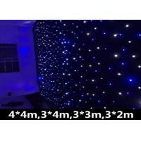 Buy cheap AC90-240V LED Stage Backdrop Curtain Lights , Led Star Curtain Backdrop 120W from wholesalers
