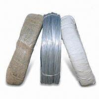 Wholesale Electro-galvanized Iron Wire with 10 to 25% Elongation Rate and 30 to 70kg Tensile Strength from china suppliers