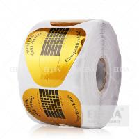 Wholesale High Sticky Acrylic Nail Forms 500 Pieces Per Roll Extension Shaping from china suppliers