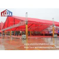 Square Roof DJ Light Truss , Stage Lighting Truss Systems With TUV Certification