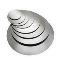 Wholesale Cookware Hot Rolled Aluminium Circles / Aluminium Discs H22 H14 H16 Temper from china suppliers