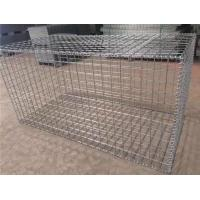 Wholesale Professional Custom Gabion Wire Mesh , Silver Wire Cage Retaining Wall from china suppliers