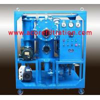 Wholesale Double Stages Vacuum Transformer Oil Filtration Systems from china suppliers