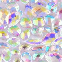Buy cheap Grade AAAAA Sew On Flatback Rhinestones , 14 Facets Pear Shaped Flat Back from wholesalers