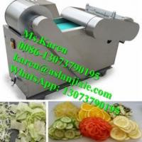 China celery vegetable cutting machine / lemon carrot slicing machine vegetable shredder machine electric vegetable cutter for sale