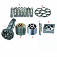 Ship Hydraulic System Piston Pump Spare Parts with Socket Bolt , Valve Plate