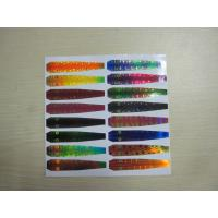 Wholesale Holographic Reflective Head Back Printed Adhesive Labels in Fishing Lure from china suppliers