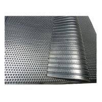 China Lightweight Cattle Stall Mats , Soft Stable Non Slip Rubber Mat For Cow on sale