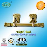 Best Italy style zamak metal casket coffin swing bar H020 zamak handle size 31.5*12cm polished and plating wholesale