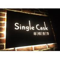 Wholesale Wall - Mounted Hanging LED Light Box Sign With Laser Metal Cutting Contents from china suppliers