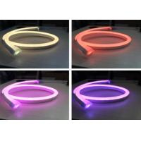 Wholesale SMD5050 12V RGB Neon Lights , 14 X 26mm Size Outdoor RGB Flexible Led Neon Tube from china suppliers