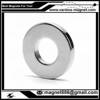 China NdFeB Ring Magnet D34xd24xh10  N38 Coating Ni texture axial for sale