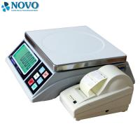 Wholesale White Digital Pricing Scale Large LCD Display Weigh Check Alarm Easy Counting from china suppliers