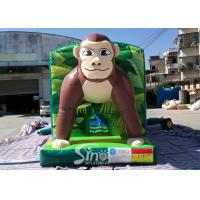 Wholesale Giant Jungle Monkey Inflatable Bounce House Obstacle Course For Kids Party Fun from china suppliers