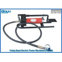 Weight 10.1kg High Pressure Pedal Style Transimission Line Stringing Tools Hydraulic Pedal Pump Reservoir Capacity 800cc