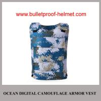 Wholesale Wholesale Cheap China NIJ Army Ocean Digital Camo Military Ballistic Armor Jacket from china suppliers